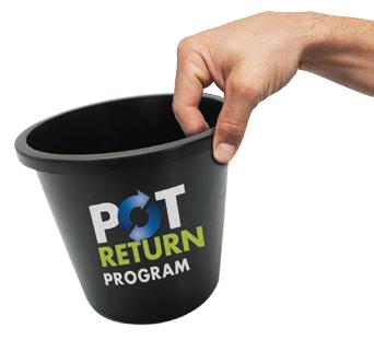 Pot return holding pot