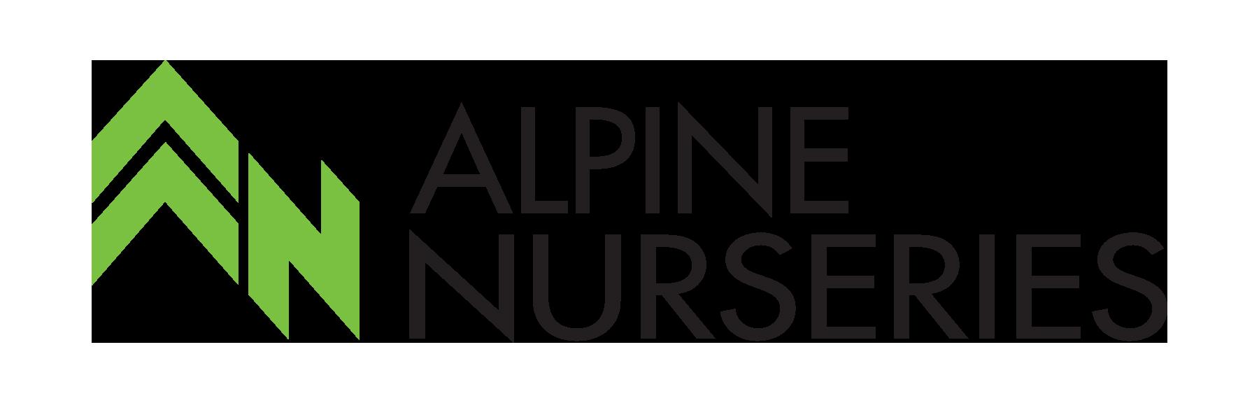 Alpine Nurseries logo